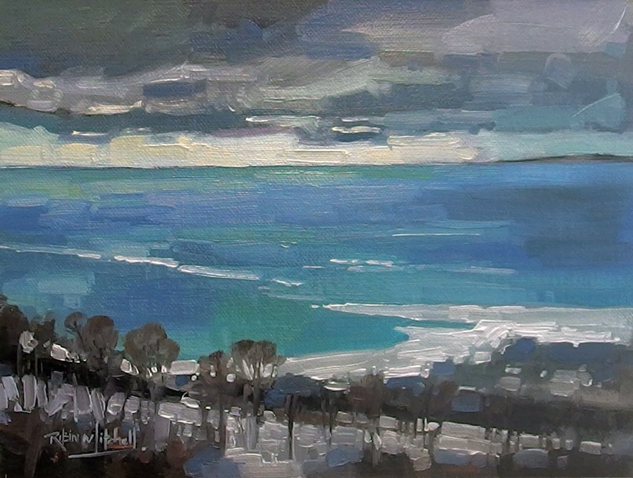 """No 838 Georgian Bay"" original fine art by Robin J Mitchell"