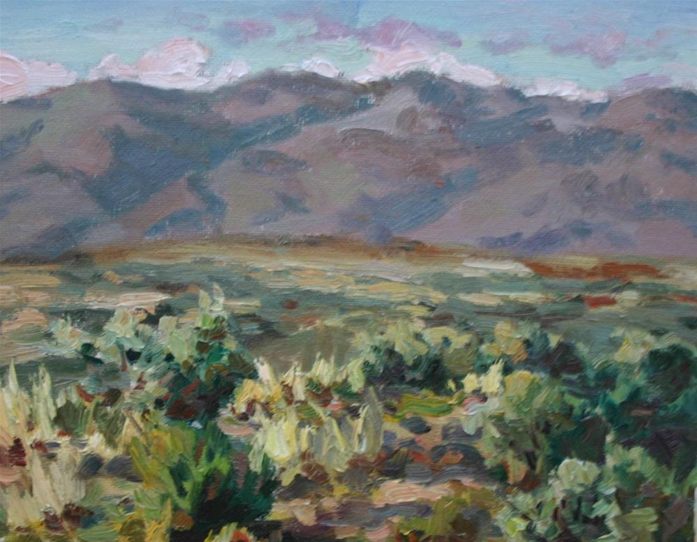 """""""High Desert Afternoon"""" original fine art by K.R. McCain"""