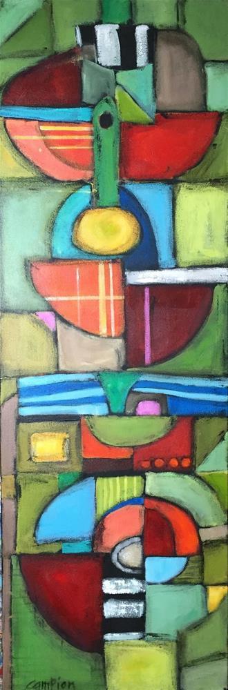 """Atypical"" original fine art by Diane Campion"