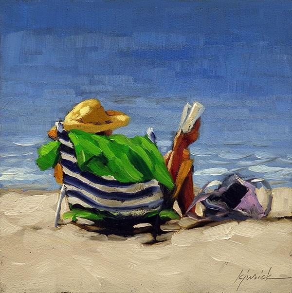 """At Ease"" original fine art by Karin Jurick"