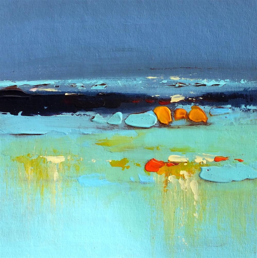 """Landscape 284"" original fine art by Ewa Kunicka"