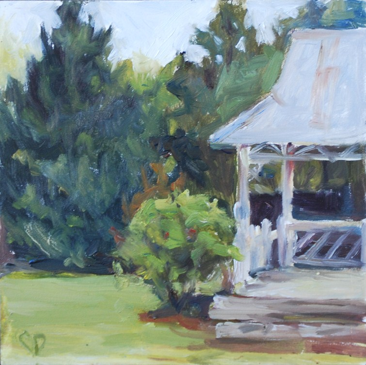 """Plein Air Study"" original fine art by Carol DeMumbrum"