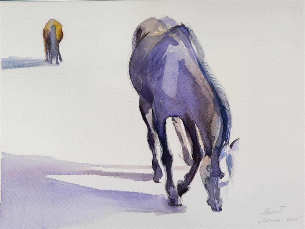 """long_shadow2"" original fine art by Beata Musial-Tomaszewska"