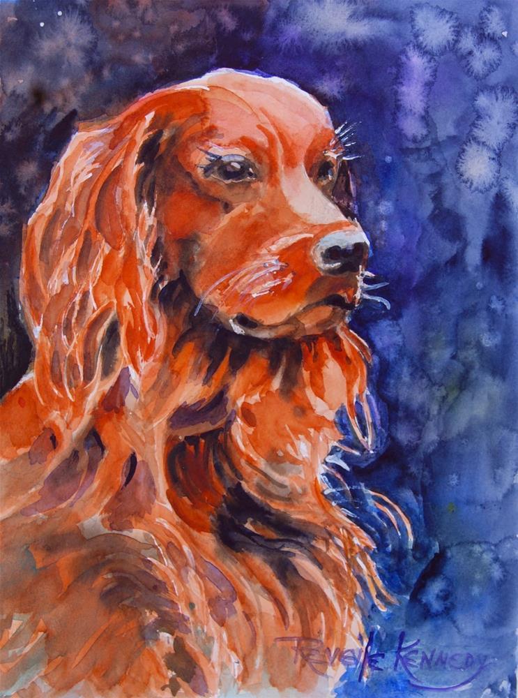 """Sentinal"" original fine art by Reveille Kennedy"