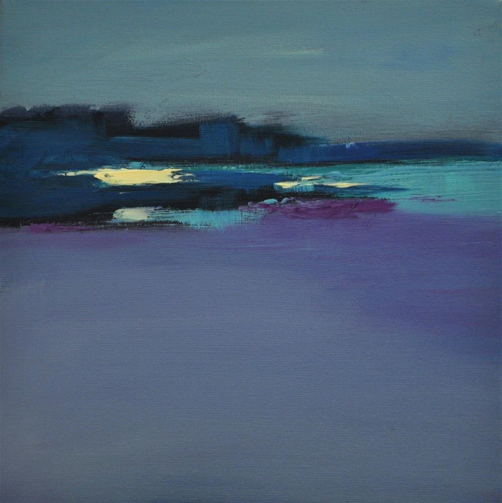 """Landscape 160"" original fine art by Ewa Kunicka"