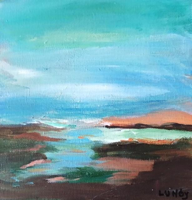 """Sea Dream"" original fine art by Sheila Clark Lundy"
