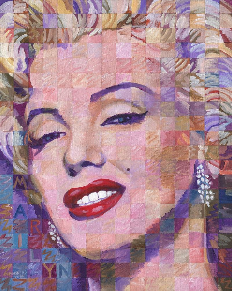 """Marilyn Monroe 2014.01"" original fine art by Randal Huiskens"