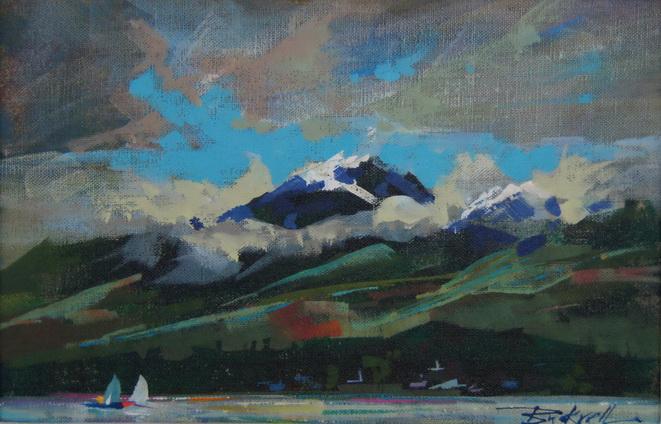 """""""Beaufort Morning"""" original fine art by Brian Buckrell"""