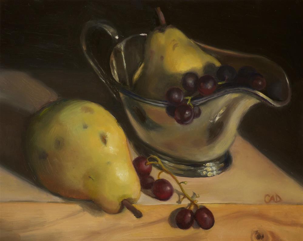 """Still Life Boat"" original fine art by Christine Angelotta Dixon"