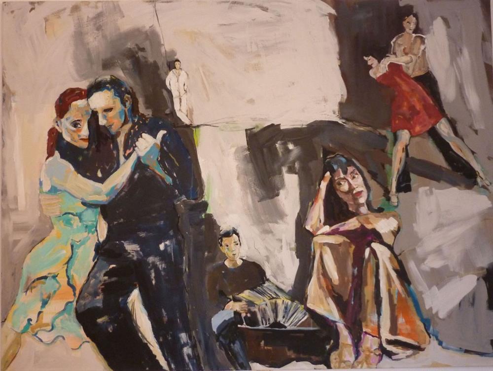 """Tango Argentino"" original fine art by Mila Plaickner"