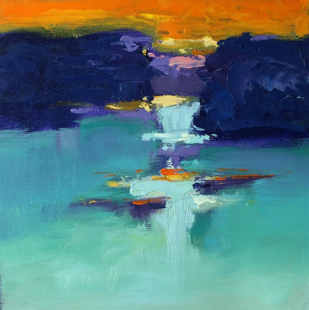 """Landscape 371"" original fine art by Ewa Kunicka"