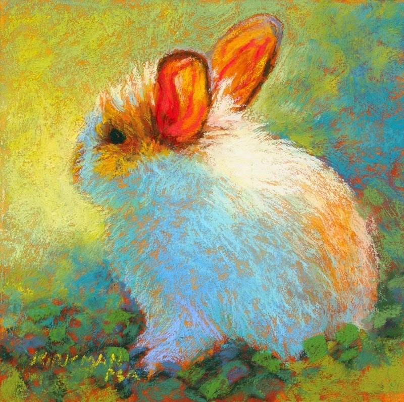 """Apricot"" original fine art by Rita Kirkman"