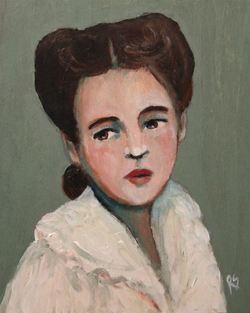 """Abigail"" original fine art by Roberta Schmidt"