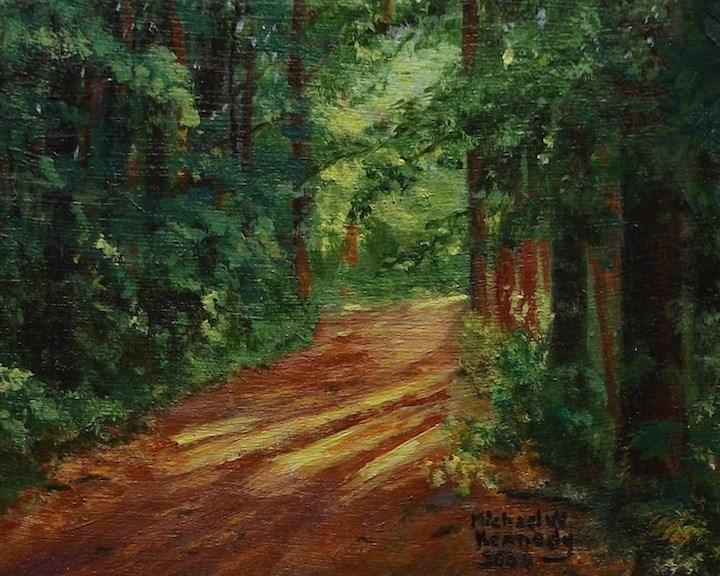 """Gentle Path"" original fine art by Michael Kennedy"