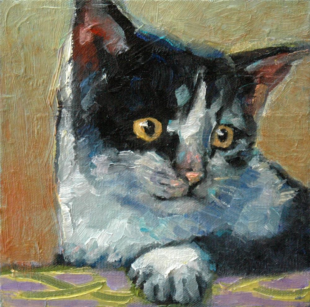 """Vincent"" original fine art by Rachel K Schlueter"