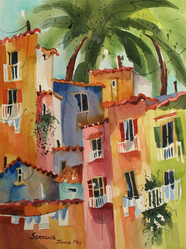 """Sorrento"" original fine art by Jinnie May"