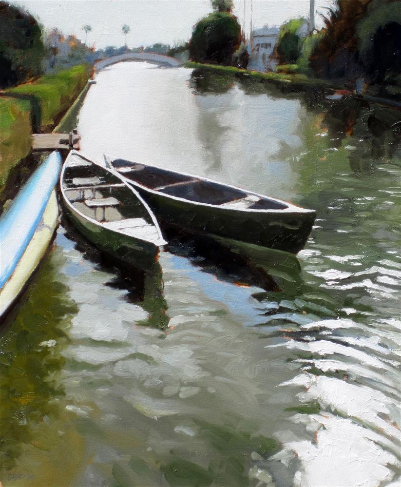 """""""Linnie Canal"""" original fine art by Dan Graziano"""
