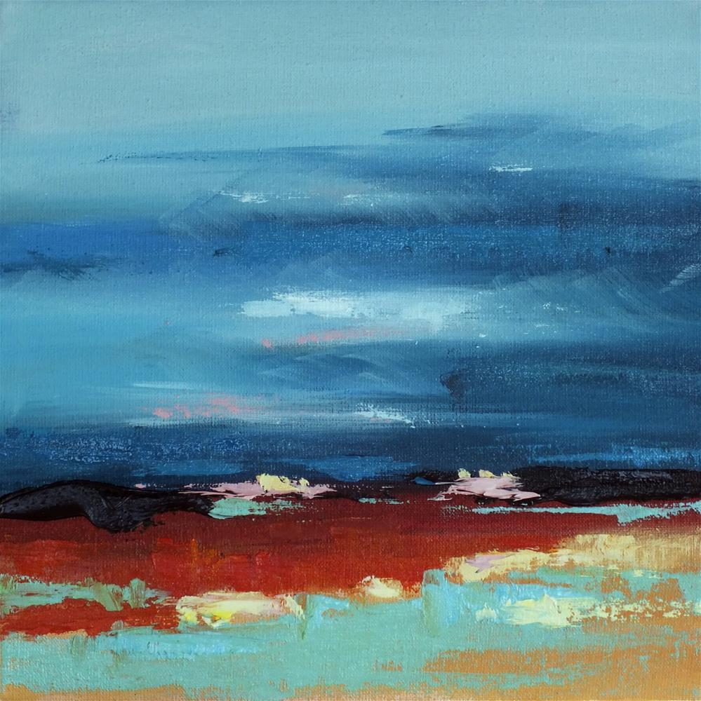 """Landscape 130"" original fine art by Ewa Kunicka"