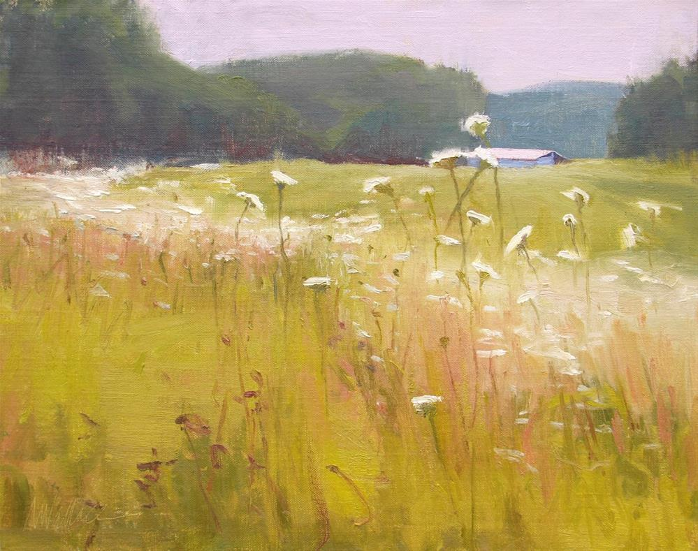"""#70 Long days of summer"" original fine art by Nancy Wallace"