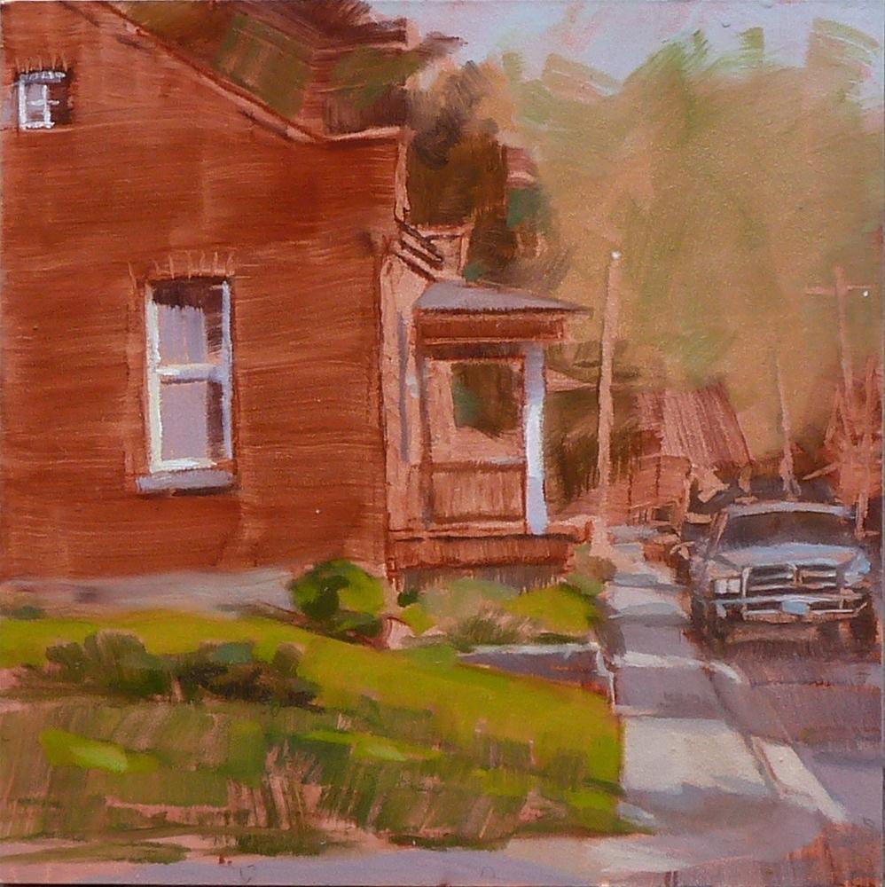 """Stafford & Fremont"" original fine art by Ron Ferkol"