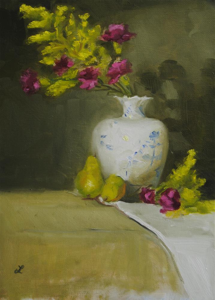 """Carnations"" original fine art by Lori Jacobs - Farist"