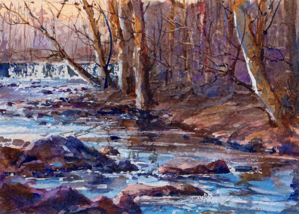 """Ridley Creek"" original fine art by Linda Henry"