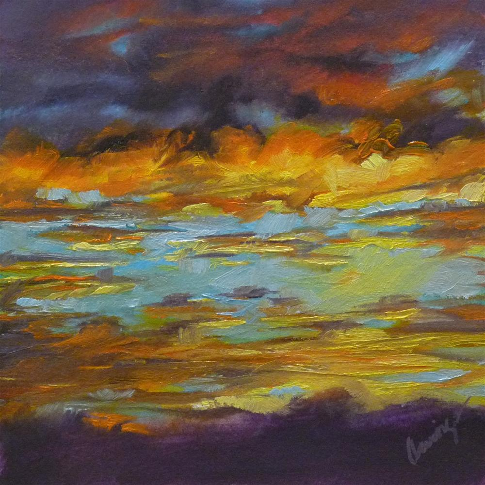 """Sky13"" original fine art by Sharman Owings"