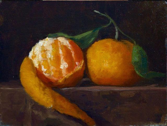 """Oranges"" original fine art by max moss"