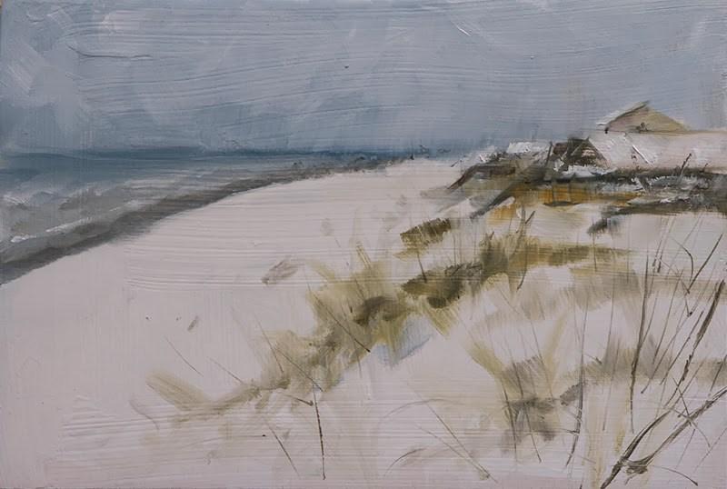 """""""Topsail Snow"""" original fine art by Clair Hartmann"""