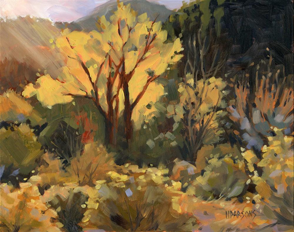 """All That Glitters"" original fine art by Nancy Parsons"