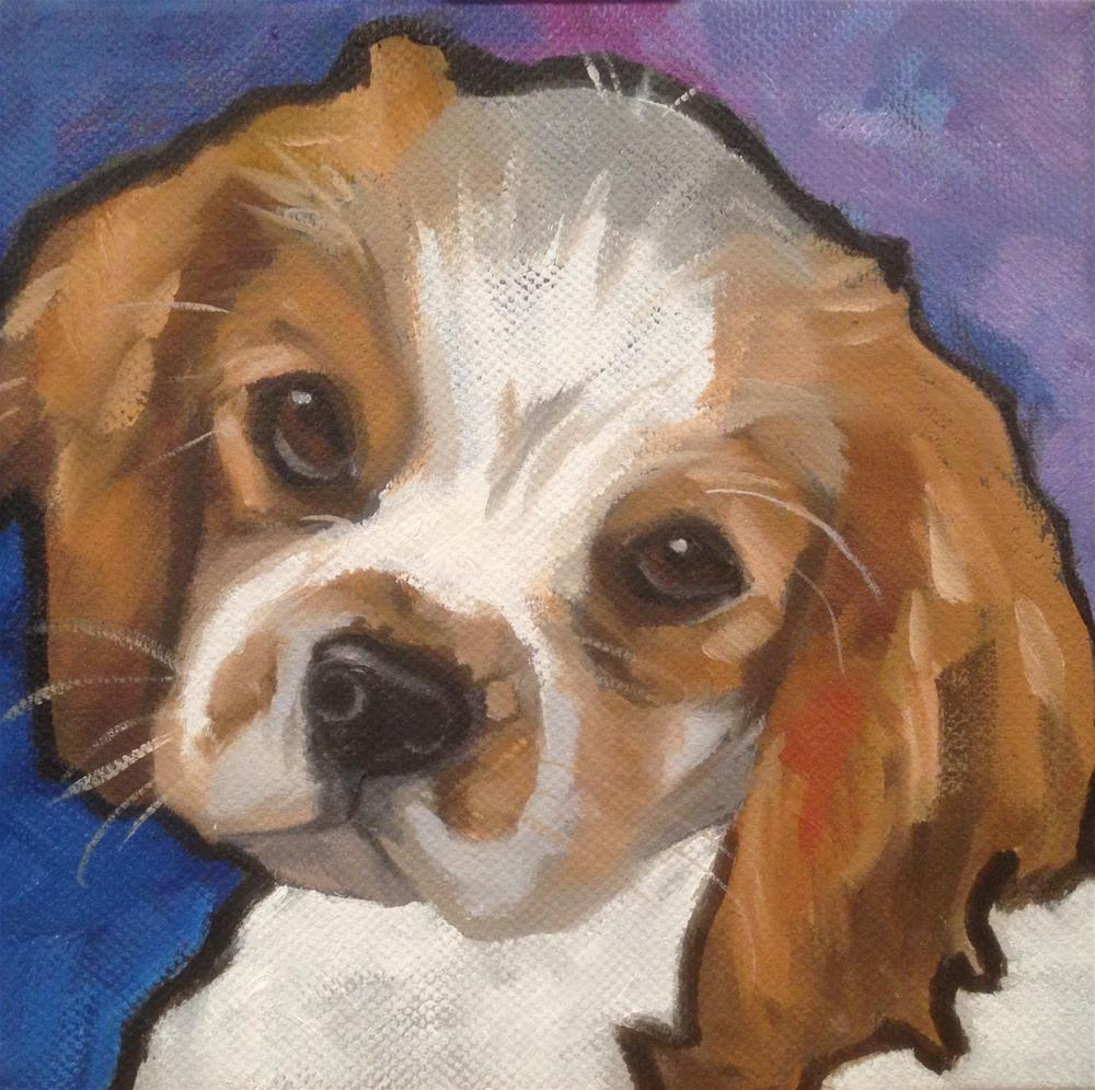 """Winston"" original fine art by Philla Barkhorn"