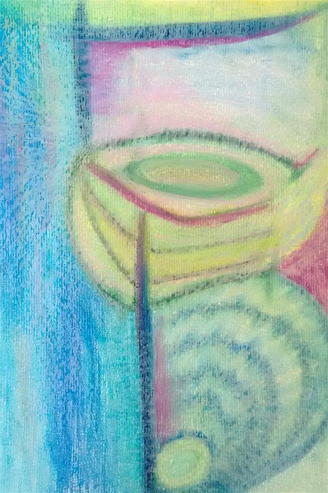"""Sacred Cup"" original fine art by Adéla Svobodová"