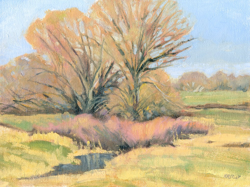 """Spring Grove"" original fine art by Kath Reilly"