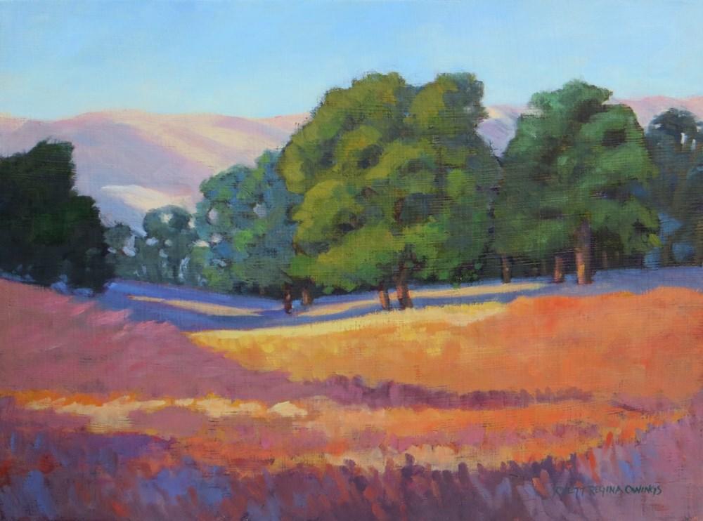 """""""Golden Meadow"""" original fine art by Rhett Regina Owings"""