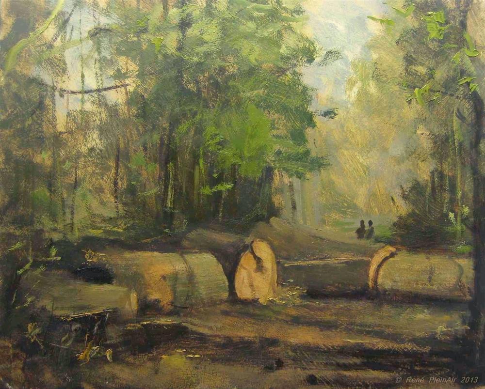 """End of Fox-street. Doetinchem, Holland."" original fine art by René PleinAir"
