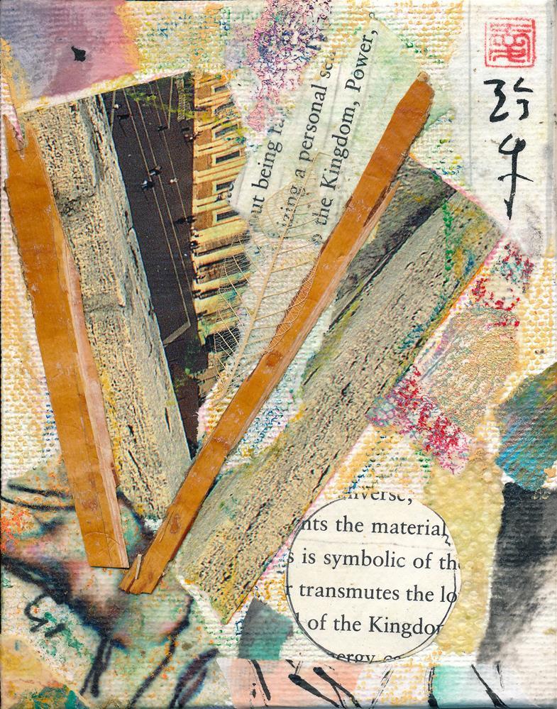 """""""Metamorphosis"""" original fine art by Janet Gunderson"""