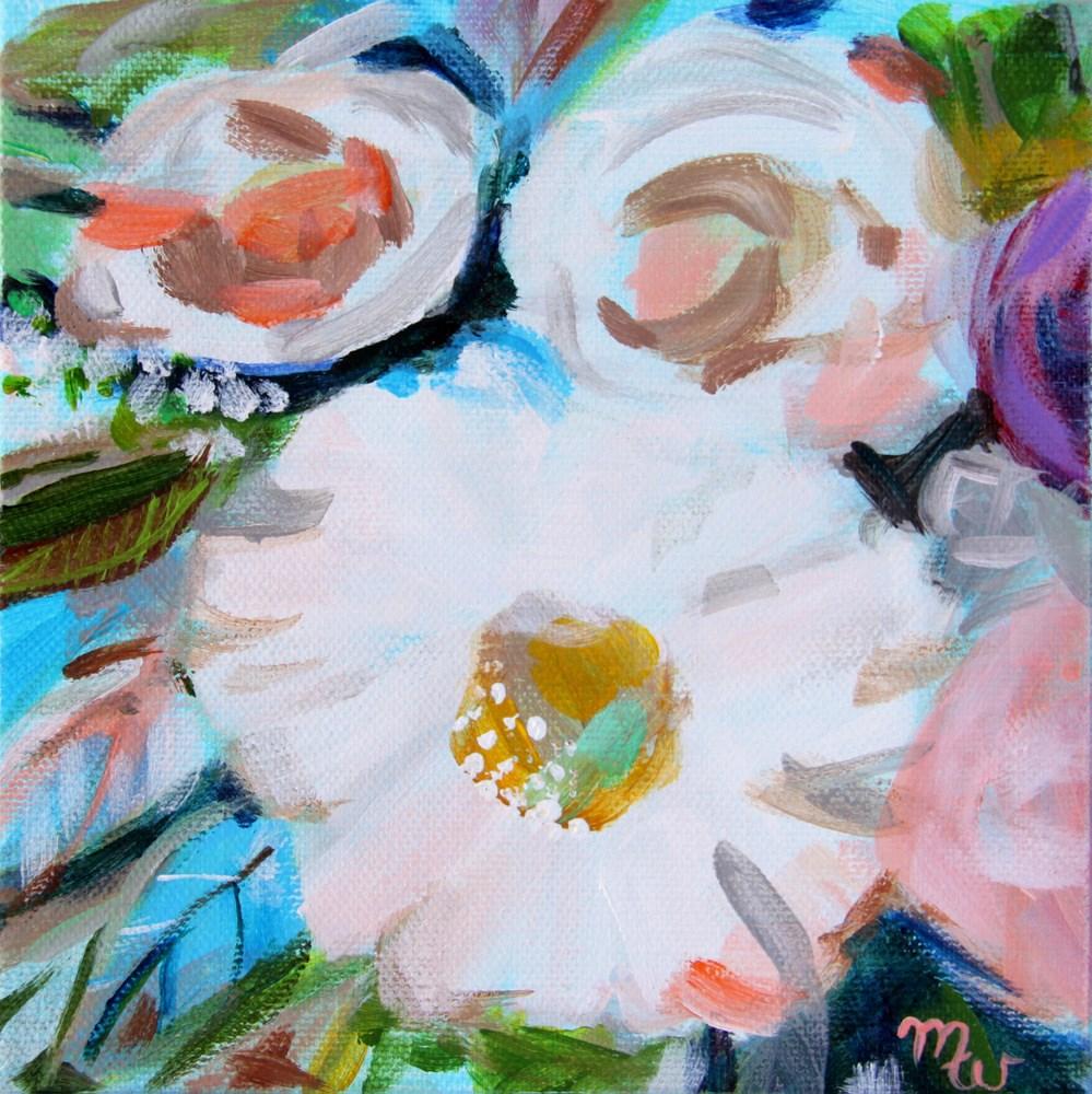 """Abigail"" original fine art by Merrill Weber"