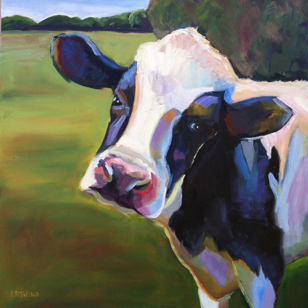 """Hey There!"" original fine art by Linda Marino"