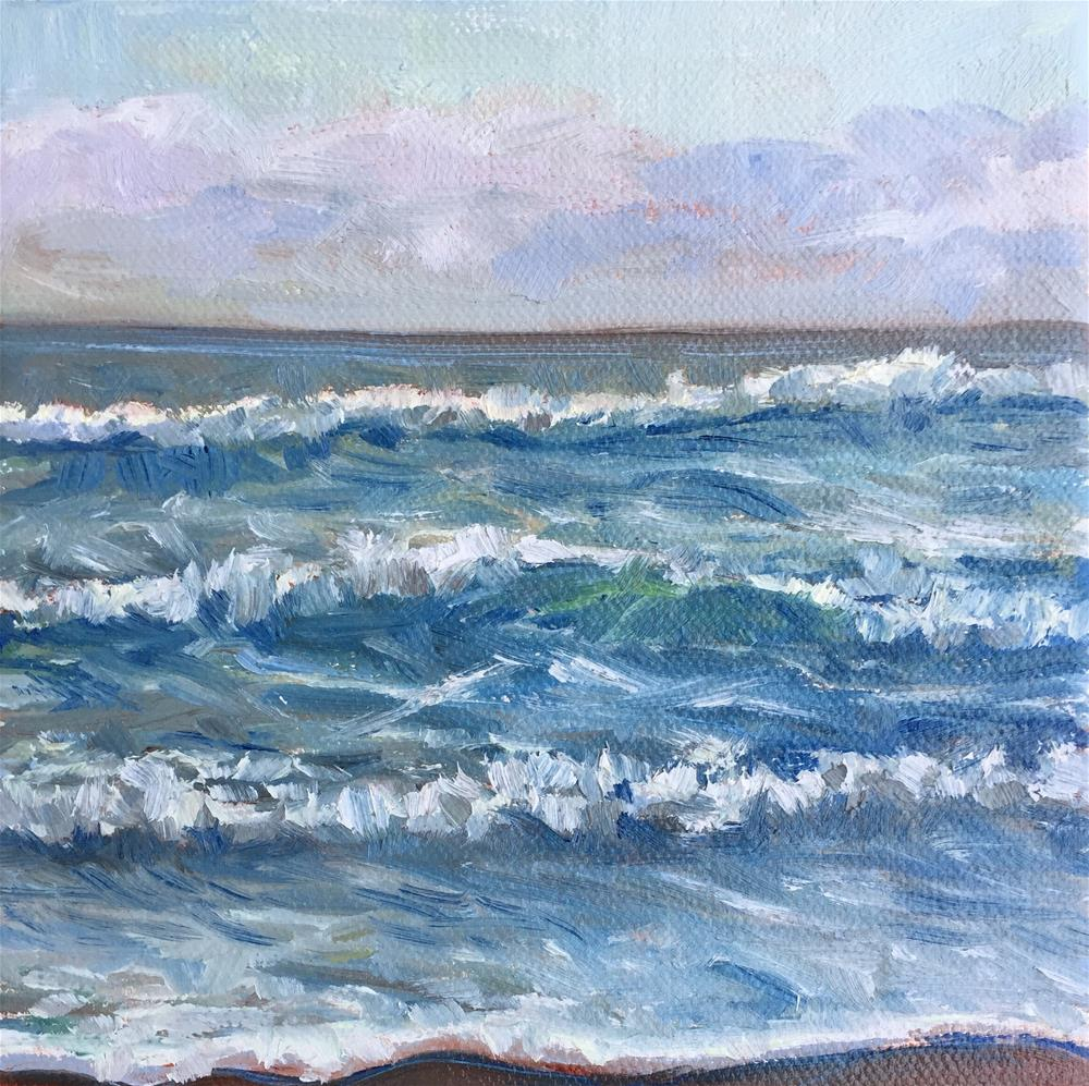 """Waves"" original fine art by Natasha Ramras"