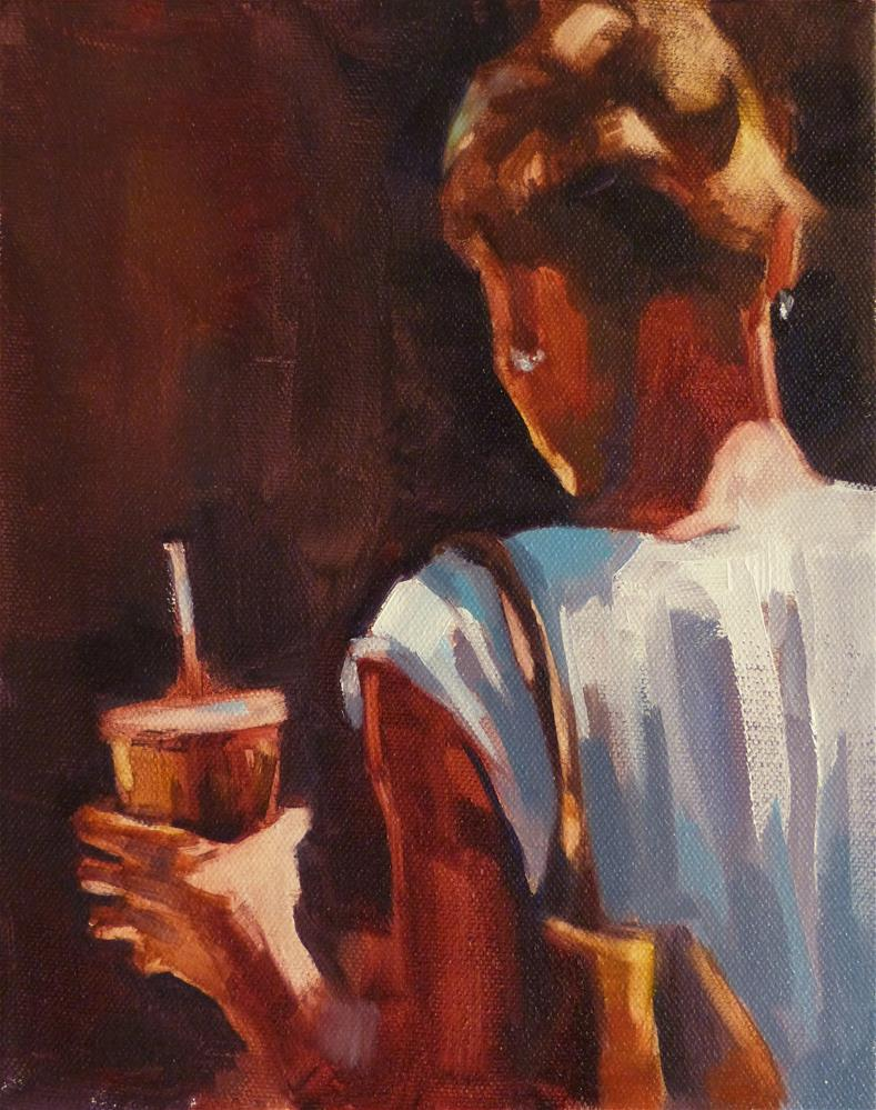 """One Cool Hand"" original fine art by Katya Minkina"