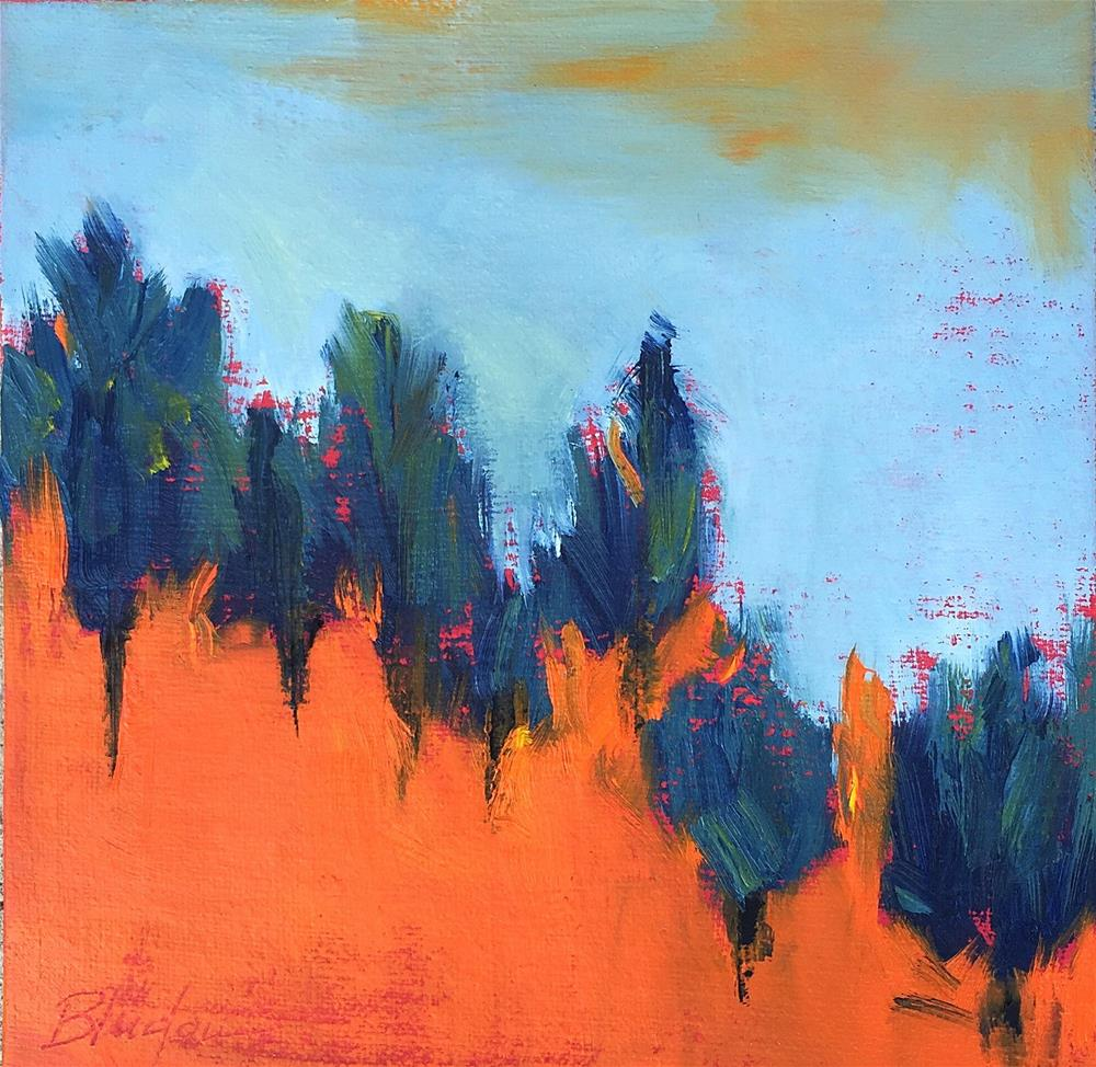 """Nature's Peak"" original fine art by Janet Bludau"