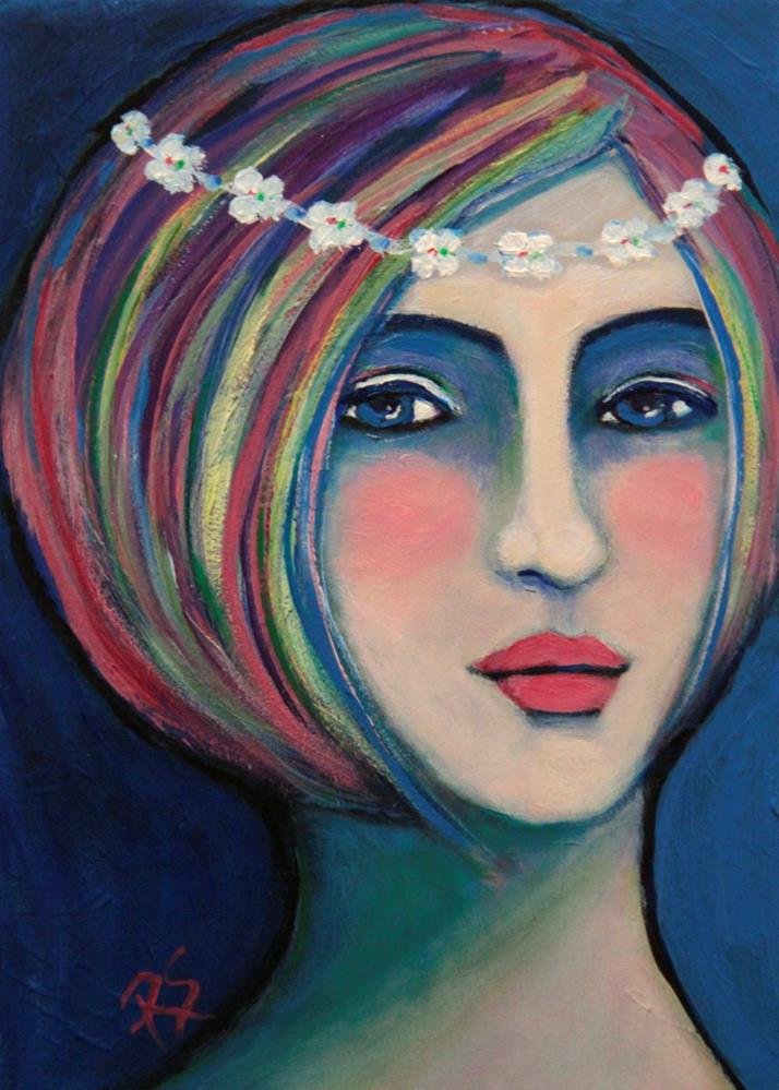 """Aubrey"" original fine art by Roberta Schmidt"
