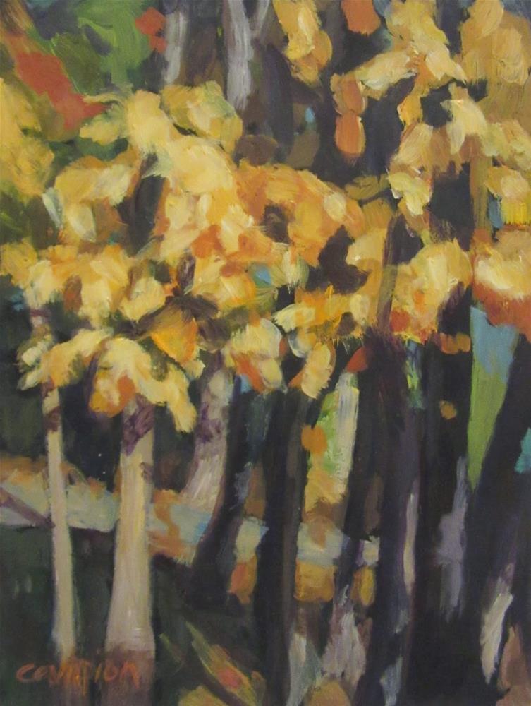 """495 Autumn Cluster"" original fine art by Diane Campion"