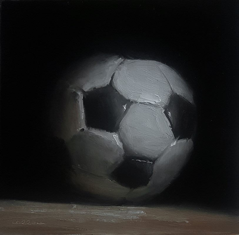 """Football"" original fine art by Neil Carroll"