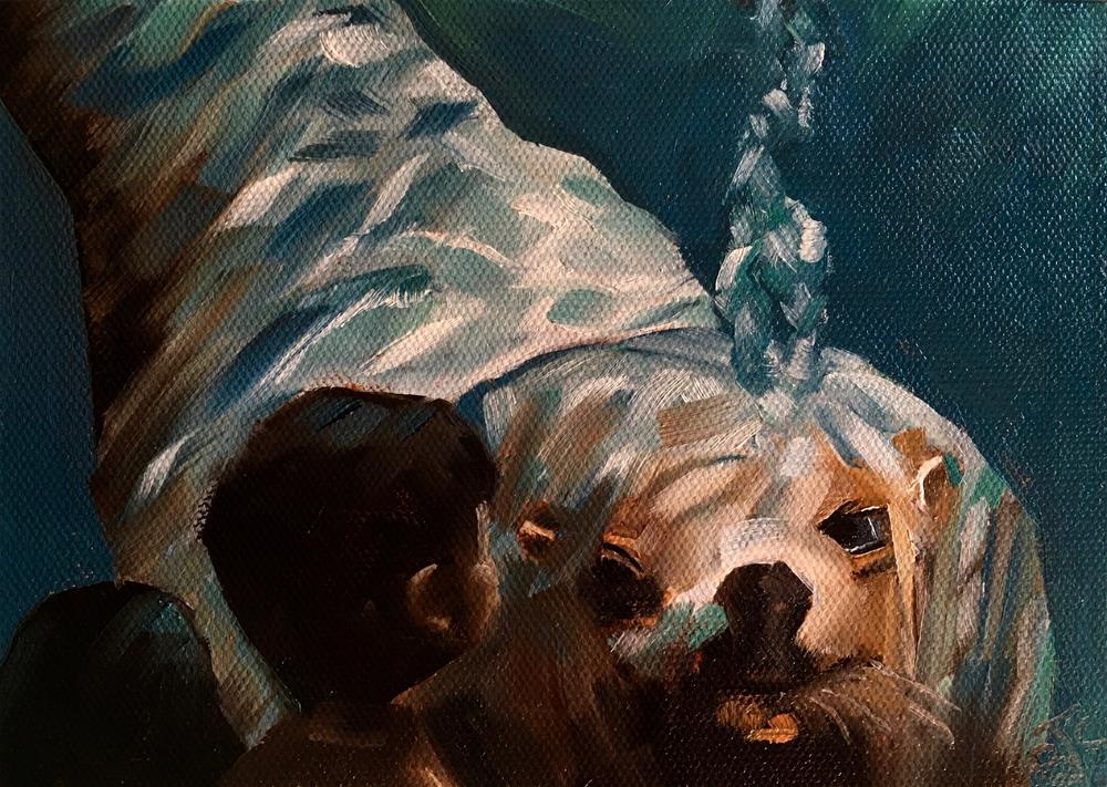 """Alaska SeaLife Center"" original fine art by Bobbie Cook"