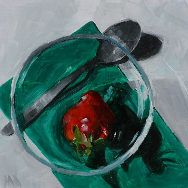 """Patience"" original fine art by Aniko Makay"