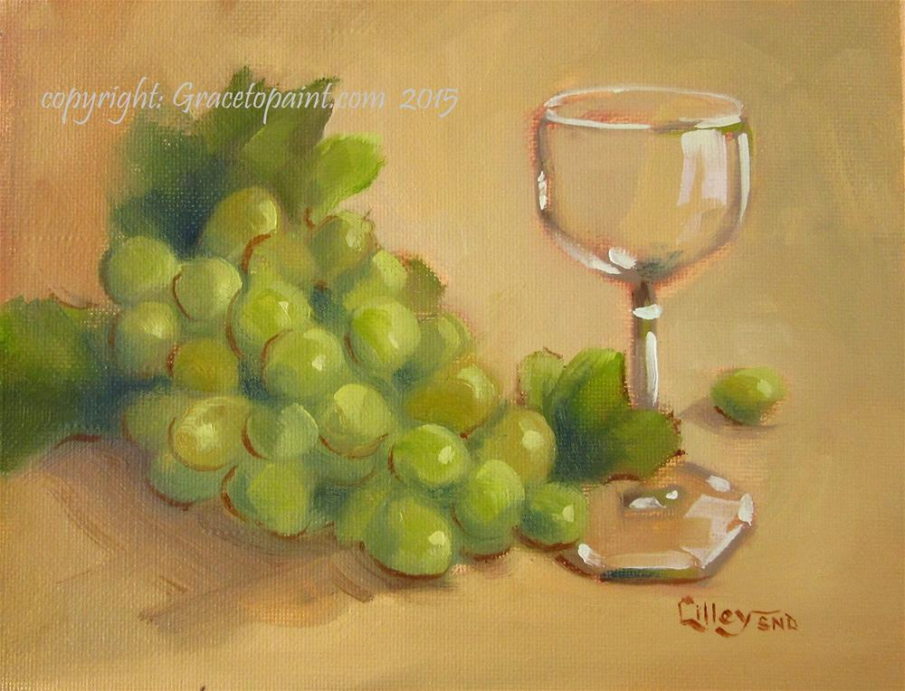 """Grapes"" original fine art by Maresa Lilley"