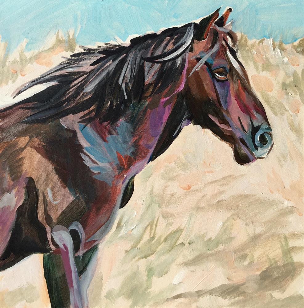 """""""Son of Spec"""" original fine art by Lauren Kuhn"""