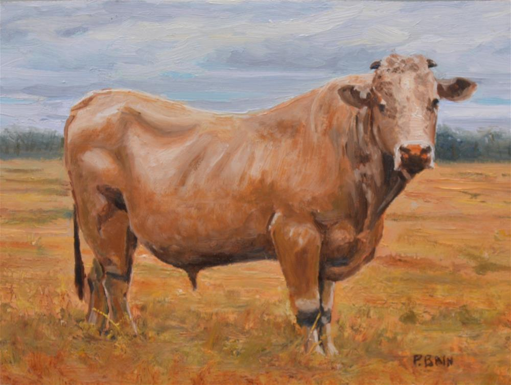 """Lester"" original fine art by Peter Bain"