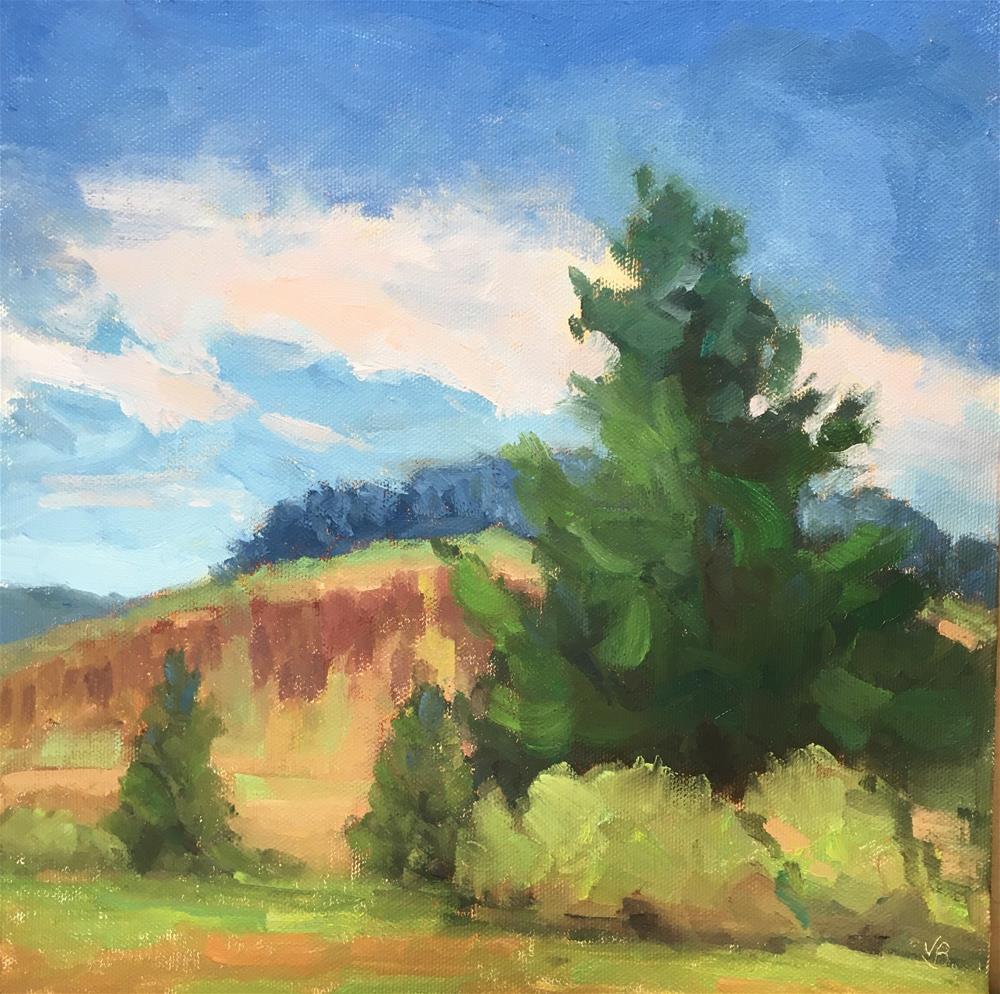 """""""Finley Tree"""" original fine art by Victoria  Biedron"""
